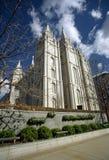 Mormon Church. In Salt Lake City Stock Photos