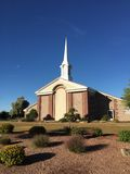 Mormon Church. In the town of Gilbert, Arizona Royalty Free Stock Photo
