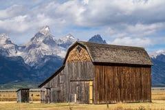 Mormon Homestead Barn royalty free stock images