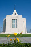 Mormon Kiev Ukrainian Temple Stock Images