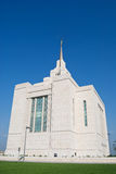 Mormon Kiev Ukrainian Temple Stock Photo