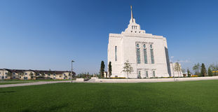 Mormon Kiev Ukrainian Temple Stock Photography