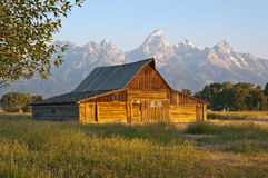 Mormon Row Barn Stock Photos