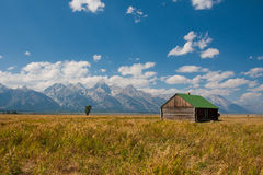 Mormon Row in Grand Teton National Park Stock Photos