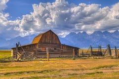 Mormon Row Grand Teton Royalty Free Stock Images
