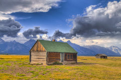 Mormon Row Grand Teton Stock Image