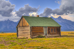 Mormon Row Grand Teton Royalty Free Stock Photography