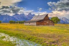Mormon Row Grand Teton Stock Images