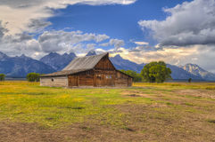 Mormon Row Grand Teton Royalty Free Stock Image