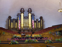 Mormon Tabernacle in Salt Lake City Stock Photos