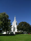 Mormon Temple. In Idaho Falls, Idaho Royalty Free Stock Image