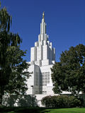 Mormon Temple. In Idaho Falls, Idaho Royalty Free Stock Photos