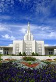 Mormon Temple Royalty Free Stock Photos