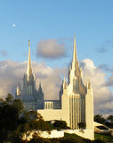 Mormon Temple Stock Photo