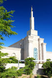 Mormon Temple in Albuquerque Royalty Free Stock Photos