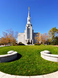 Mormon Temple Royalty Free Stock Photo