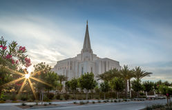 Mormon Temple Stock Photos
