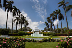 Mormon Temple, Hawaii Stock Photo