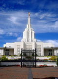 Mormon Temple Idaho Falls Stock Photography