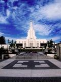 Mormon Temple Idaho Falls Stock Image
