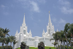 Mormon Temple at La Jolla, CA. Mormon Temple at La Jolla (San Diego), CA Royalty Free Stock Image