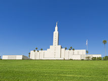 Mormon Temple, Los Angeles Stock Image