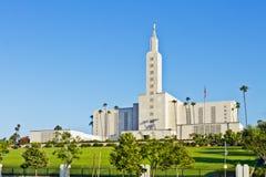 Mormon Temple In Los Angeles Stock Photos