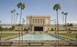 Mormon Temple in Mesa Arizona Royalty Free Stock Photography