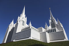 Mormon Temple - The San Diego California Temple Royalty Free Stock Photo