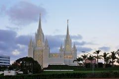 Mormon Temple in San Diego, California Stock Photo