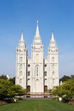 Mormon Temple Tabernacle Utah Royalty Free Stock Photography
