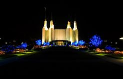 Mormon Temple - Washington DC Royalty Free Stock Images