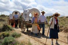 Mormonische Wanderung Lizenzfreie Stockbilder