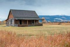 Mormonisches Blockhaus Lizenzfreies Stockfoto