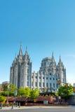 Mormons Temple in Salt Lake City, UT Stock Image