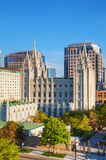 Mormons Temple in Salt Lake City, UT Stock Images