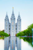 Mormons Temple in Salt Lake City, UT Royalty Free Stock Photos