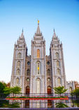 Mormons Temple in Salt Lake City, UT Royalty Free Stock Images