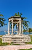 Mormont glory pavilion (1814). Trogir, Croatia. UNESCO site Stock Photography
