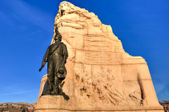 Mormonu Batalionowy zabytek, Salt Lake City, Utah Fotografia Royalty Free