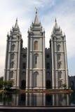 Mormoonse Tempel royalty-vrije stock afbeelding