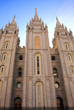 Mormoonse Tempel, Salt Lake City Stock Afbeeldingen