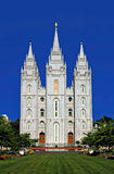 Mormoonse Tempel, Salt Lake City Royalty-vrije Stock Foto