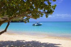 Παραλία ρουζ Morne στη Γρενάδα, καραϊβική στοκ φωτογραφία