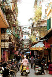 Morning Activity Stock Photo
