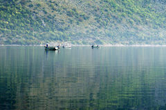 Morning on the Adriatic. Early summer morning in Boka Kotor Bay Royalty Free Stock Photos