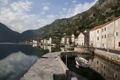 Morning Adriatic Sea Stock Photo