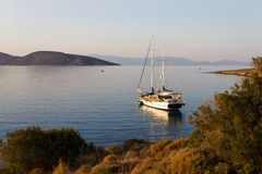 Morning on the Aegean Sea, Bodrum Stock Photography