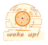 Morning alarm clock Royalty Free Stock Images