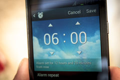Morning Alarm Royalty Free Stock Images